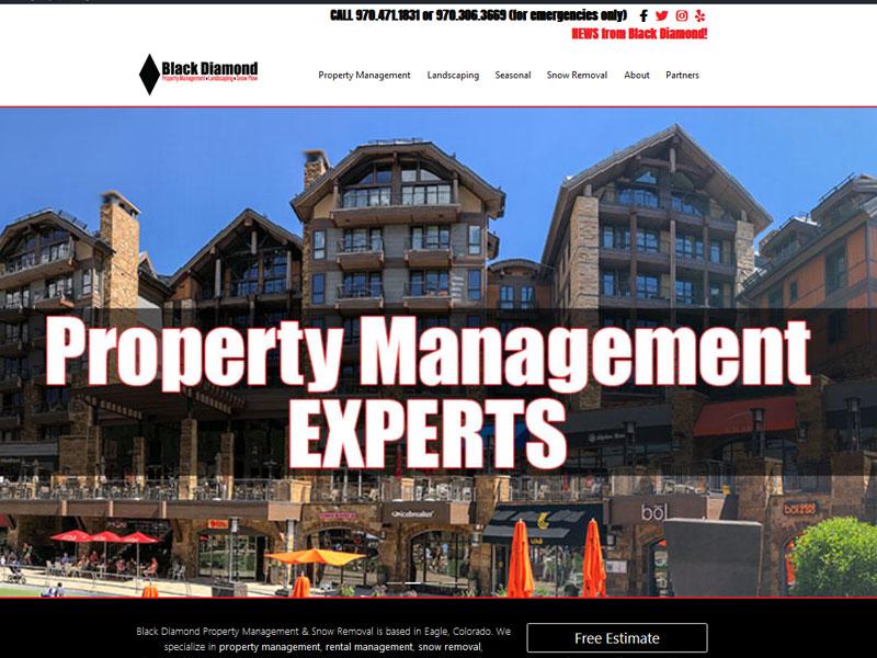 Black Diamond Property Management, Eagle, Colorado